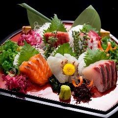渋谷にある和食居酒屋の宴会にぴったりなお造り