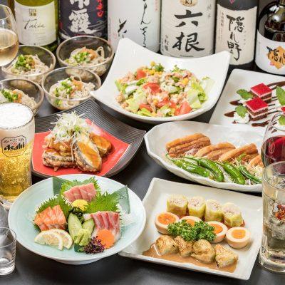 渋谷の老舗居酒屋で歓送迎会
