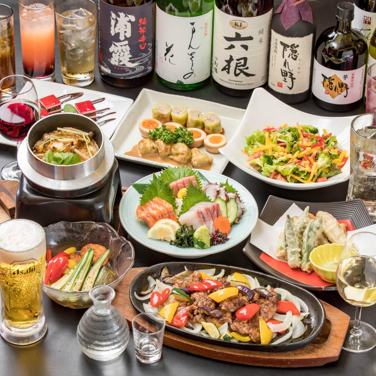 【隠れ野 渋谷】の宴会コース